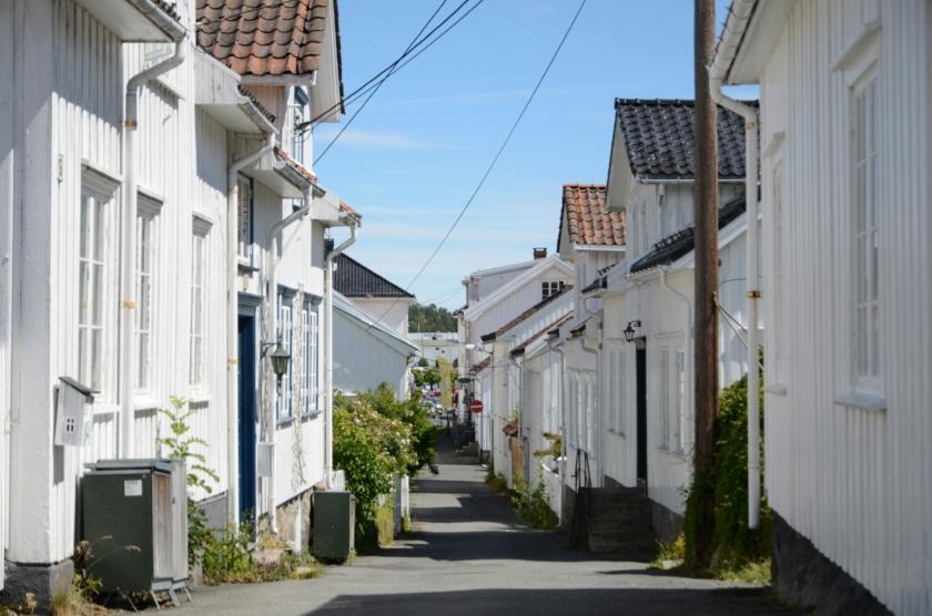 Häuser in Risør