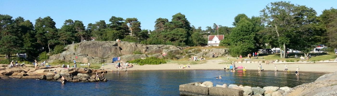 Strand von Gon Camping (Larvik)