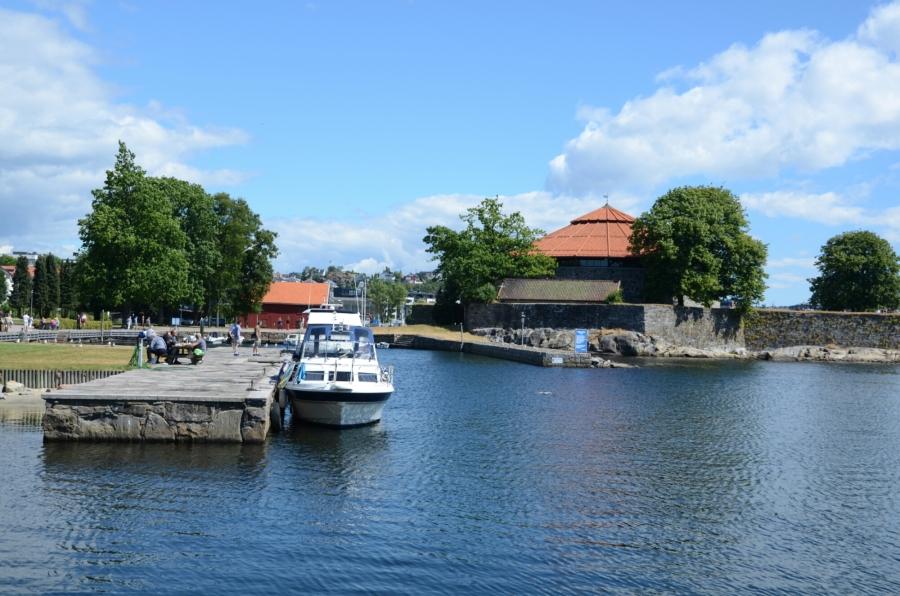 Ausblick in Kristiansand