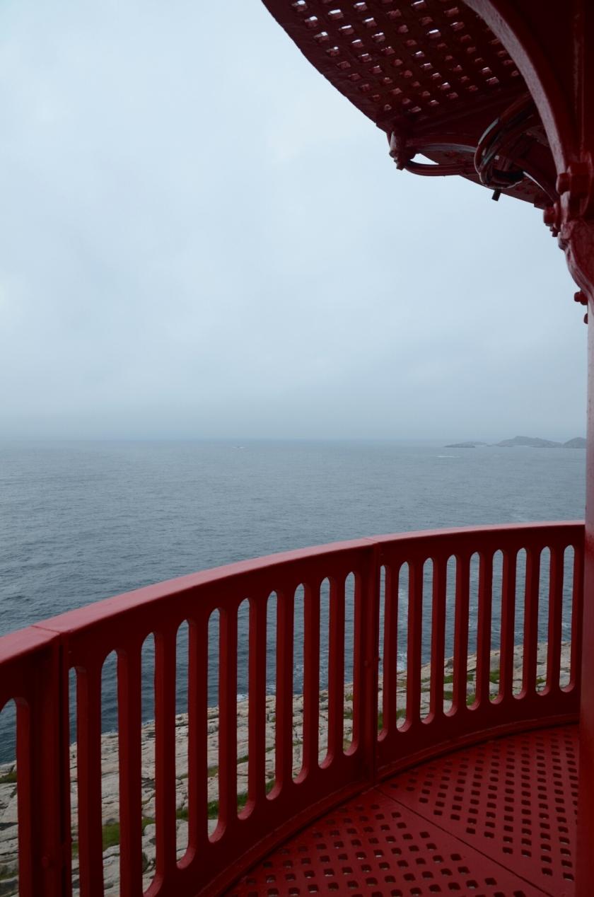 Aussicht vom Leuchtturm von Lindesnes