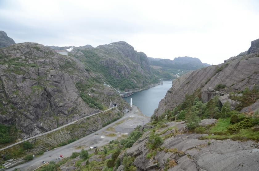 An der RV44 von Fleckefjord nach Egersund
