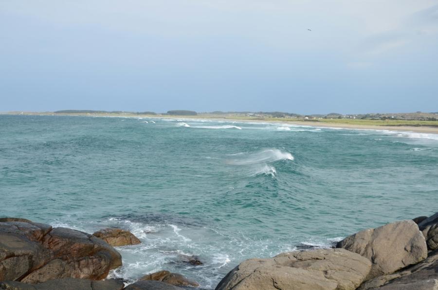 Küste bei Ogna