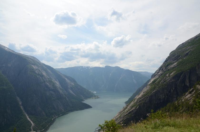Ausblick von Kjeåsen auf den Eidfjord