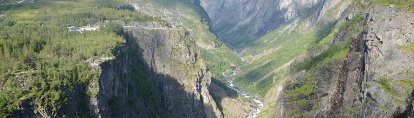Ausblick vom Vøringsfossen