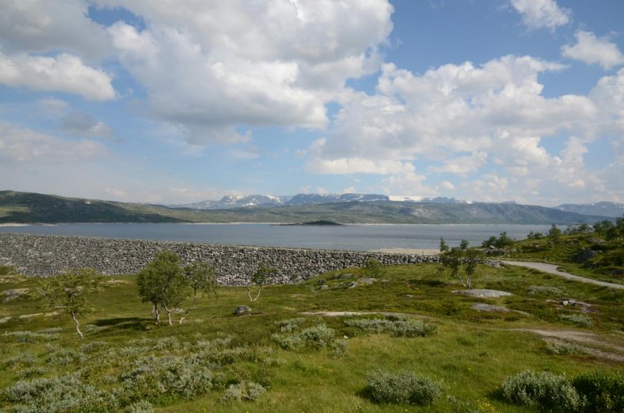 Stausee Maurset auf der Hardangervidda