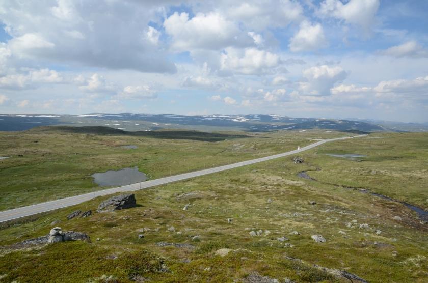 Aussicht auf der Hardangervidda
