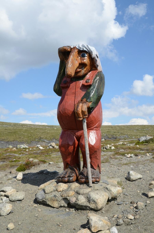 Troll auf der Hardangervidda