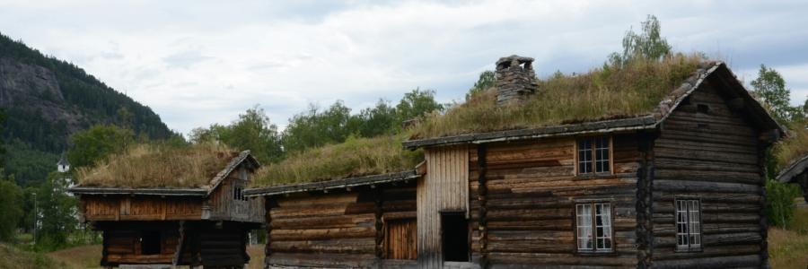 Historische Bauernhäuser im Setesdal