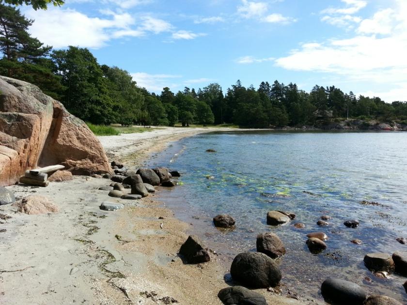 Schärenküste beim Campingplatz Moysand (Grimstad)
