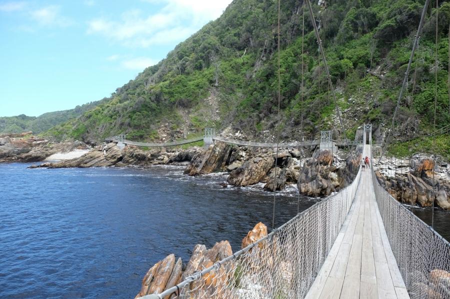 Hängebrücken bei Storms River