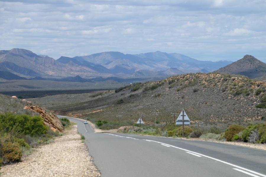 Auf dem Weg zur Meiringspoort-Schlucht