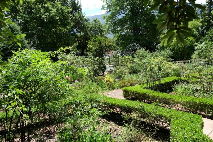 Garten von Drostdy in Swellendam