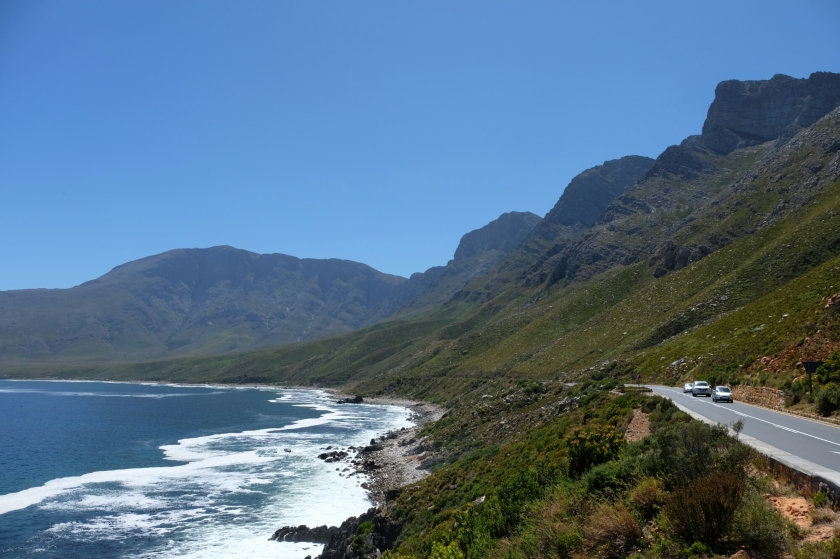 Wal-Küste zwischen Hermanus und Gordon's Bay