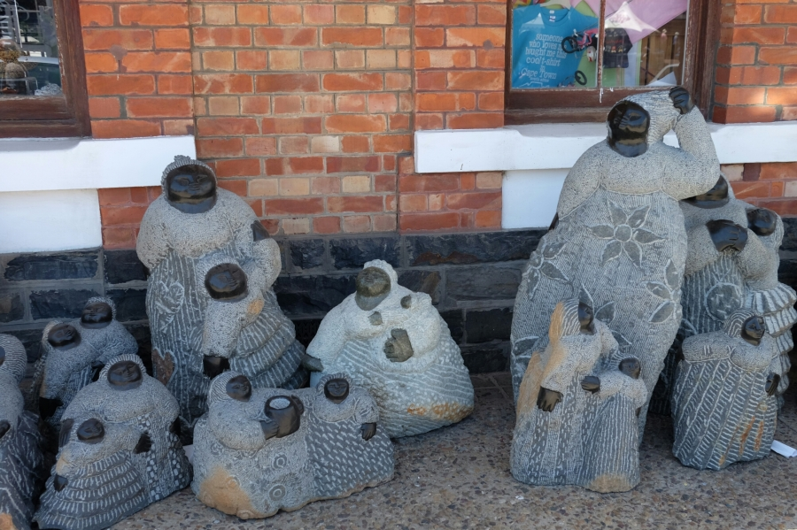 Kunst in V&A Waterfront in Kapstadt