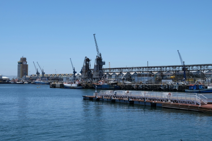 Werft in V&A Waterfront in Kapstadt