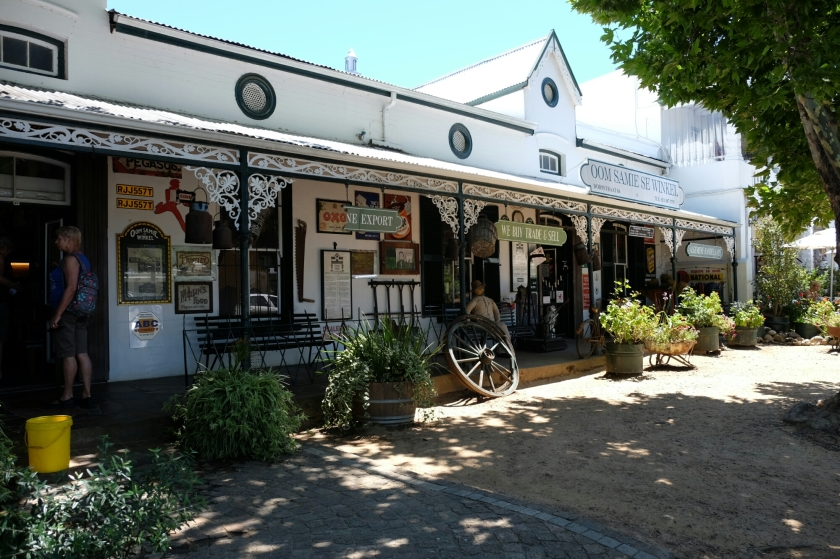 Ältester Laden Südafrikas in Stellenbosch