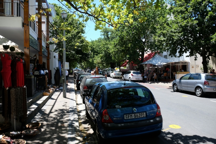 Strassenszene in Stellenbosch