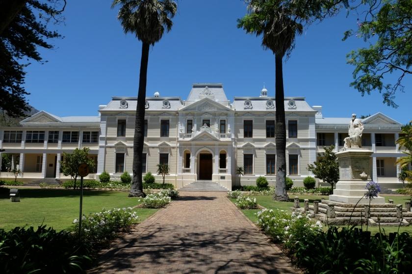 Stattliches Haus in Stellenbosch