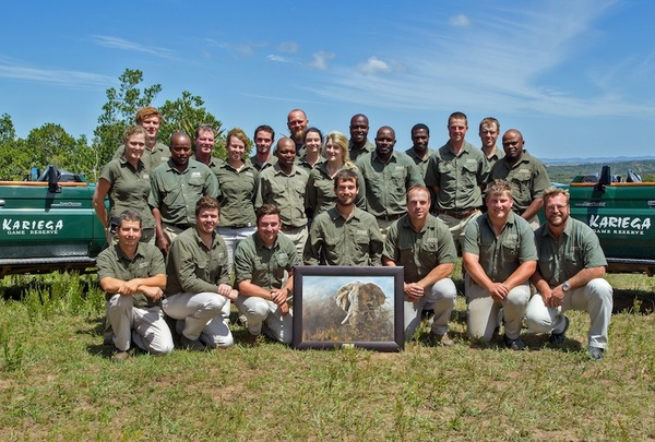 Ranger des Kariega Private Game Reserve
