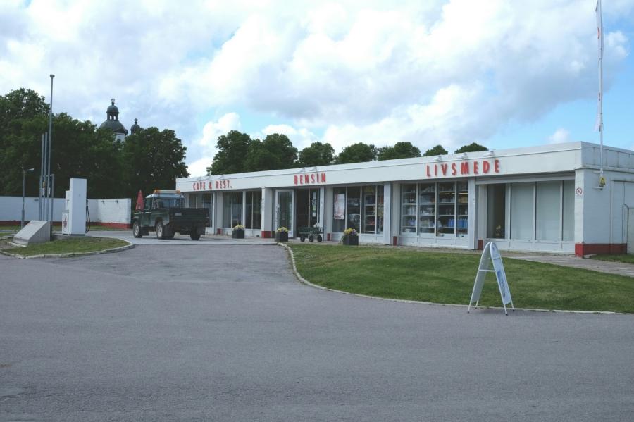 Laden beim Skokloster Schloss