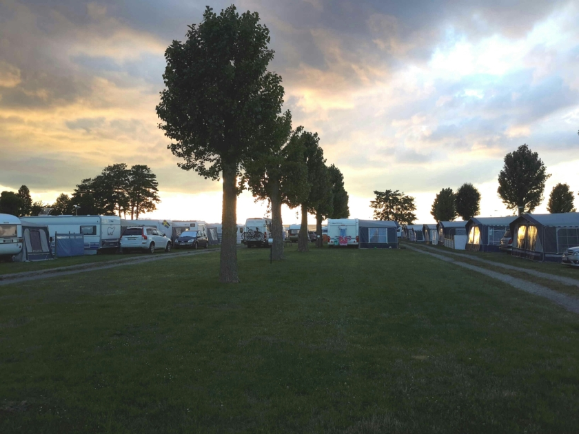 Camping bei Borgholm