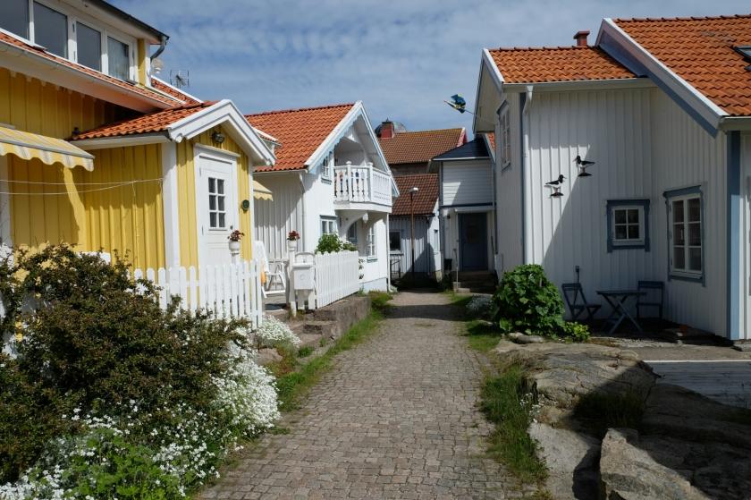 Häuser in Smögen
