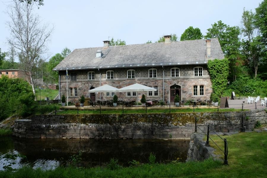 Historisches Haus in Borgvik