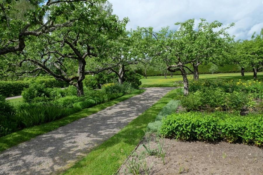 Garten des Hofs von Selma Lagerlöf in Mårbacka