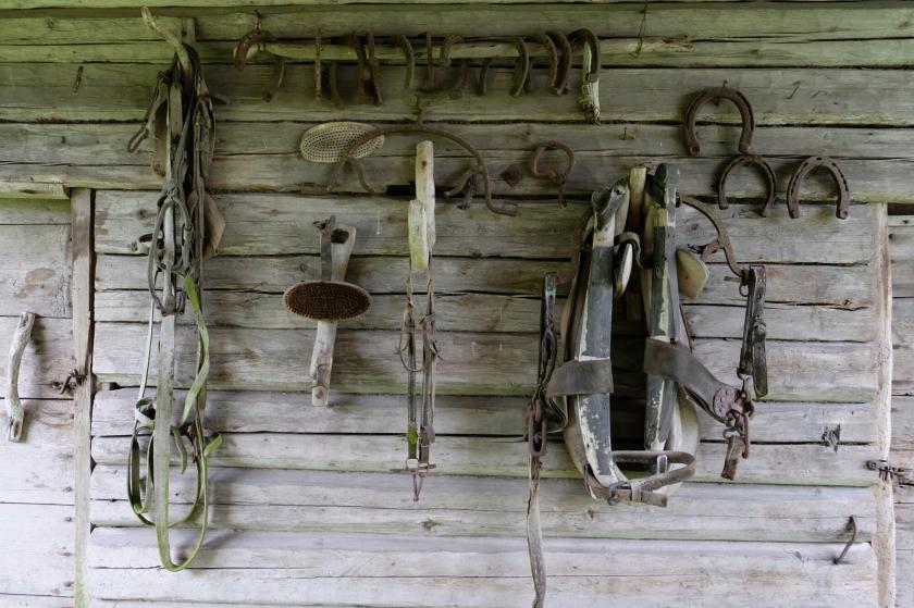 Gammelstan im Dorfgebiet Norrboda