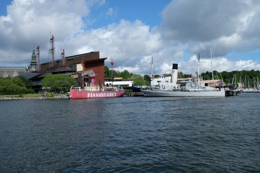 Aussichten in Stockholm (Vasa Museum)