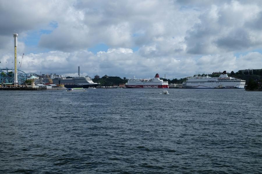 Aussichten in Stockholm (Djurgarden)