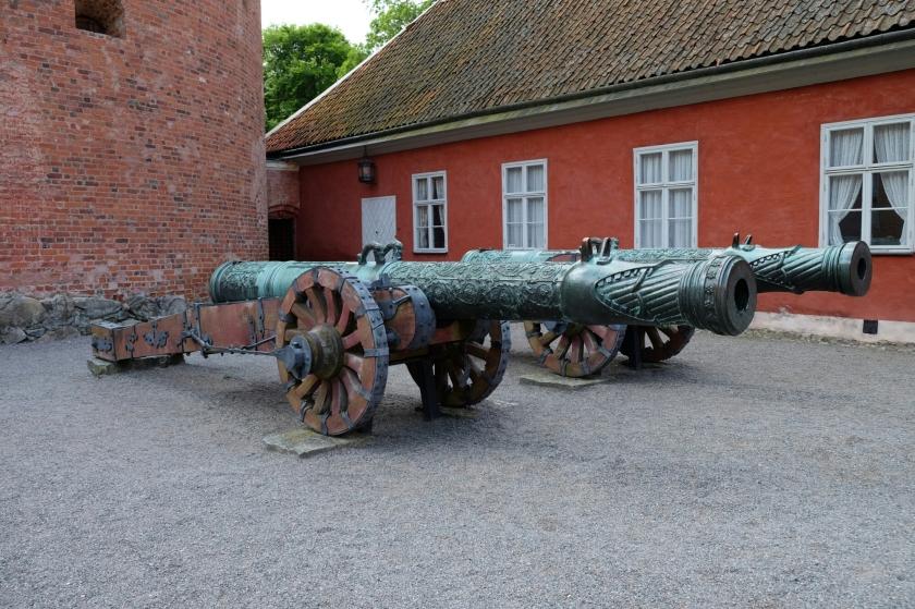 Kanonen auf Schloss Gripsholm