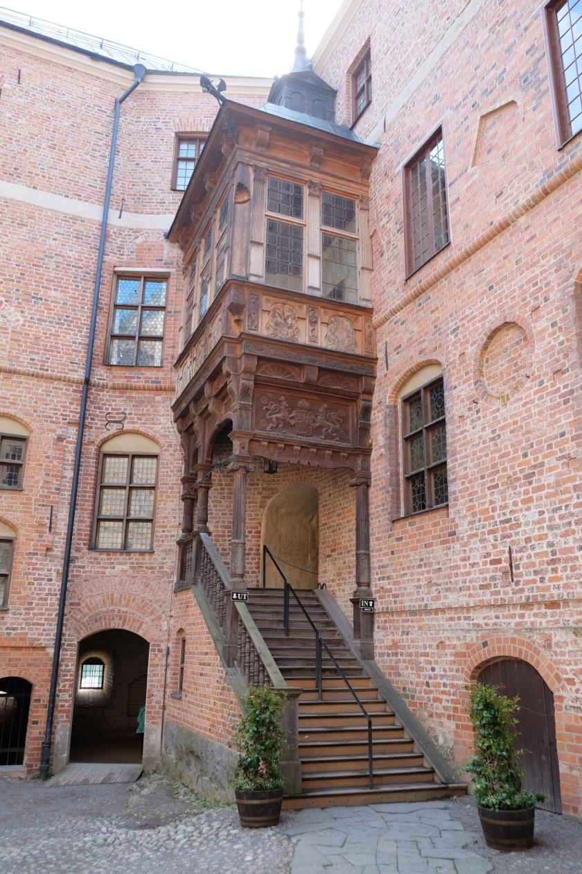Erker in Schloss Gripsholm