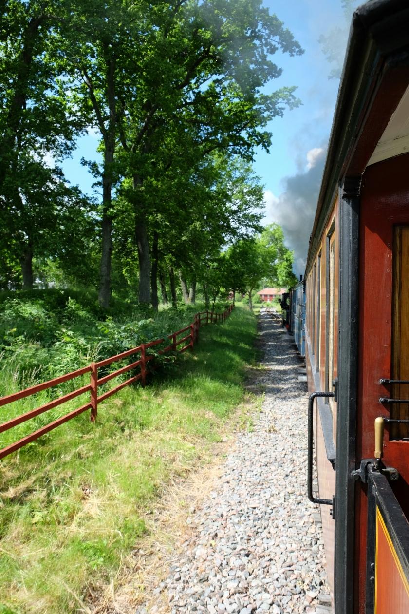 Östra Södermanlands Järnväg (älteste Museumseisenbahn Schwedens)