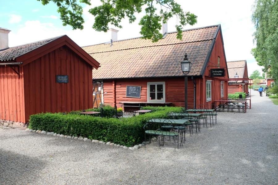 Historische Schmiedehäuser von Eskilstuna