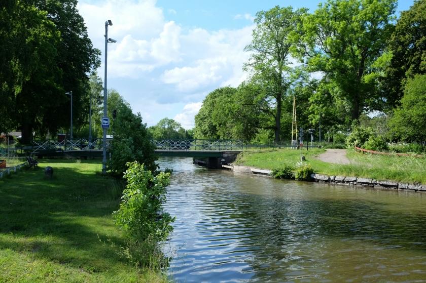 Götakanal zwischen Töreboda und Wassbacken