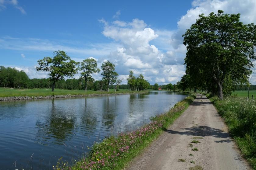 Götakanal zwischen Töreboda und Lyrestad