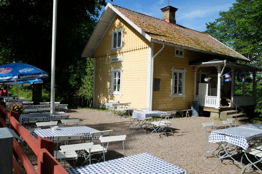 Schleusenhaus am Götakanal bei Hajstorp