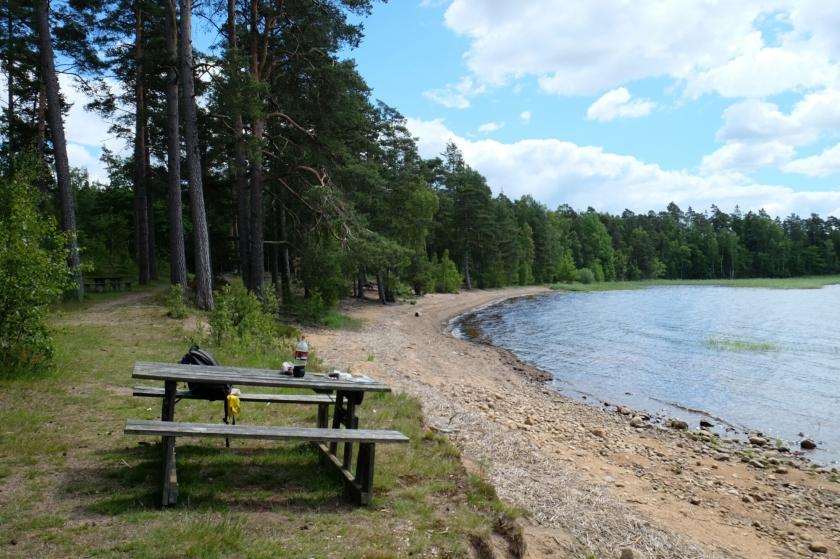 Badplats in der Umgebung von Värnamo