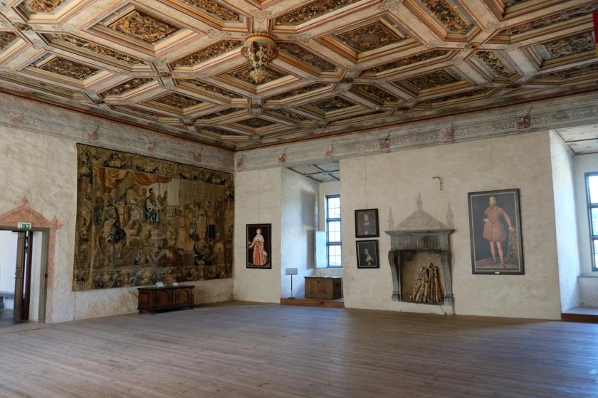 Saal im Schloss von Kalmar
