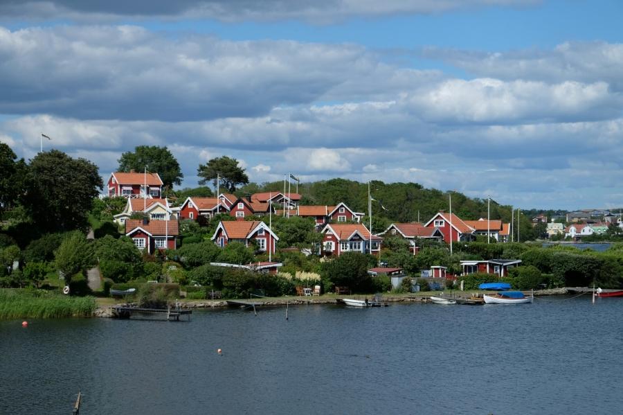 Häuser bei Karlskrona