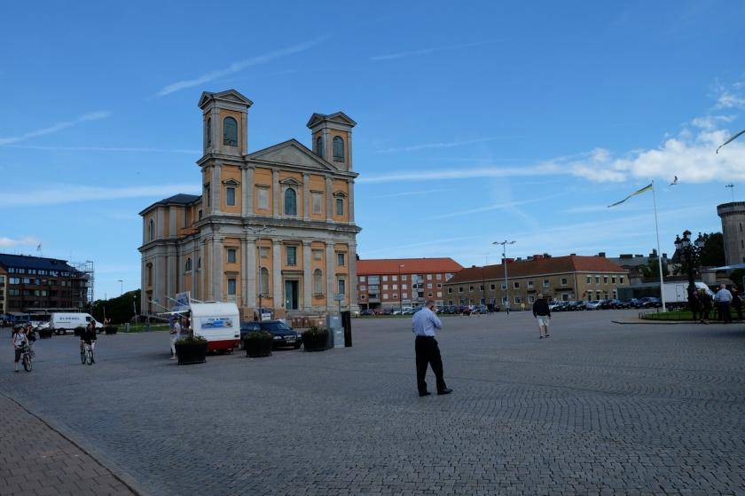 Zentraler Platz von Karlskrona