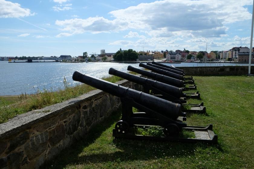 Kanonen in Karlskrona