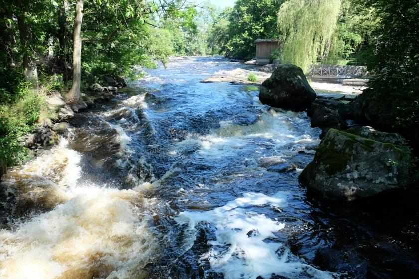 Fluss Mörrumsån
