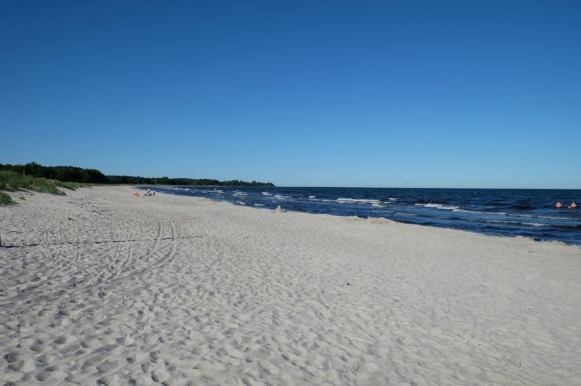 Strand südlich von Åhus