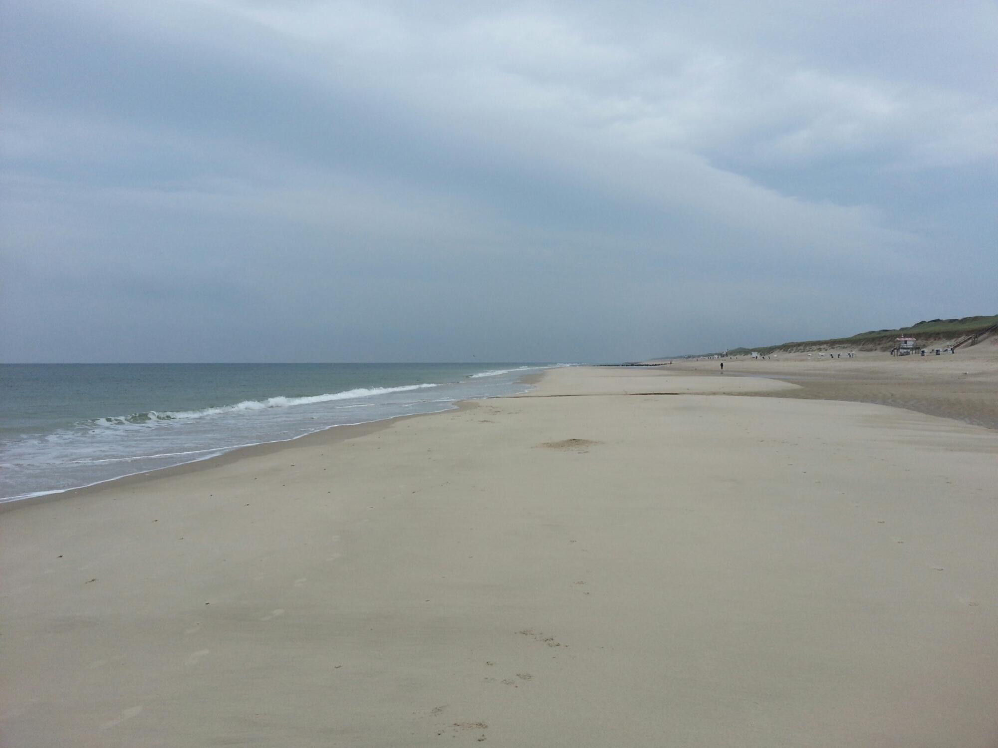 Strand bei Rantum (Sylt)