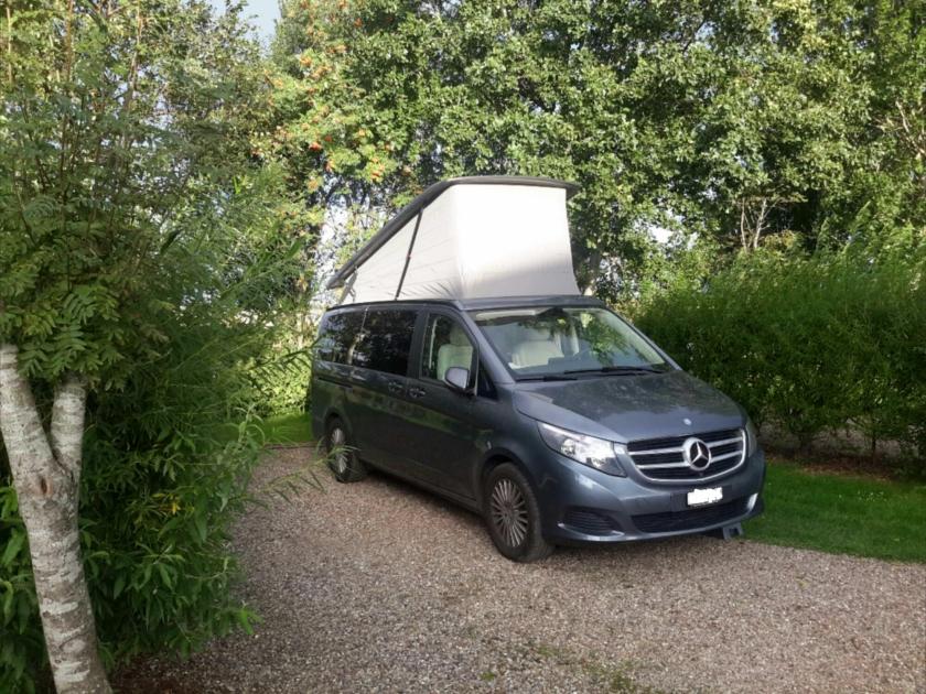 Marco Polo im Womoland Campingplatz in Nordstrand