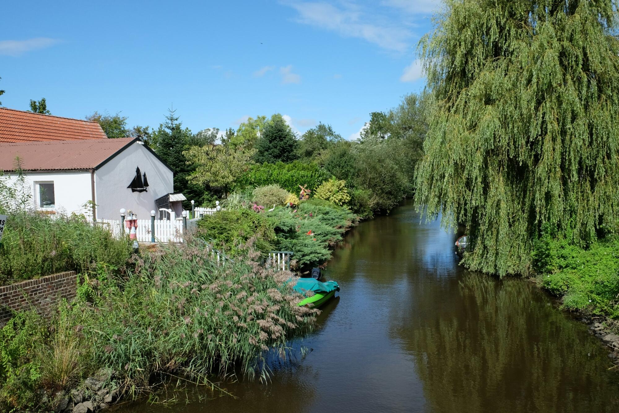 Kanal bei Friedrichstadt