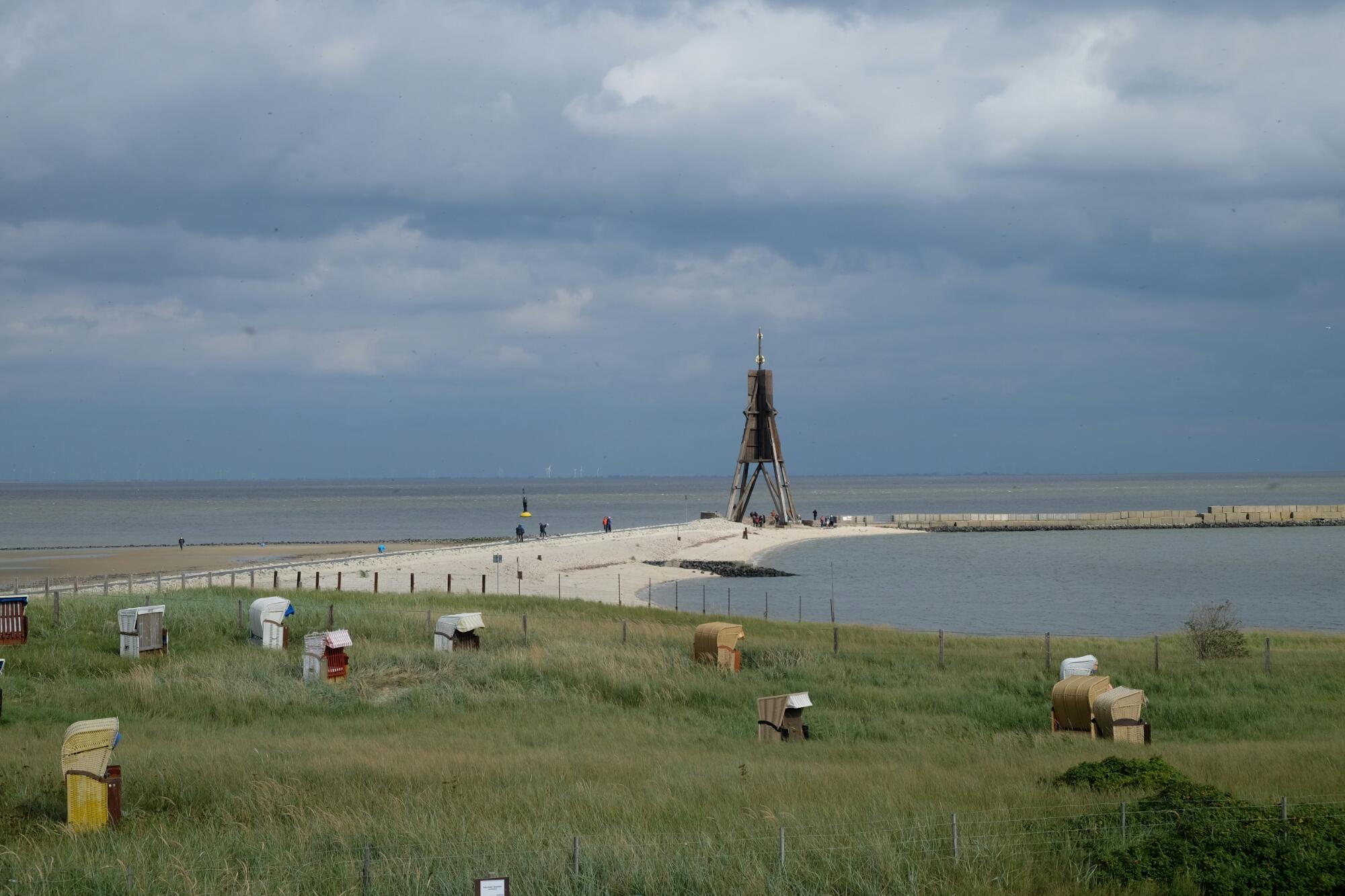Kugelbake von Cuxhaven