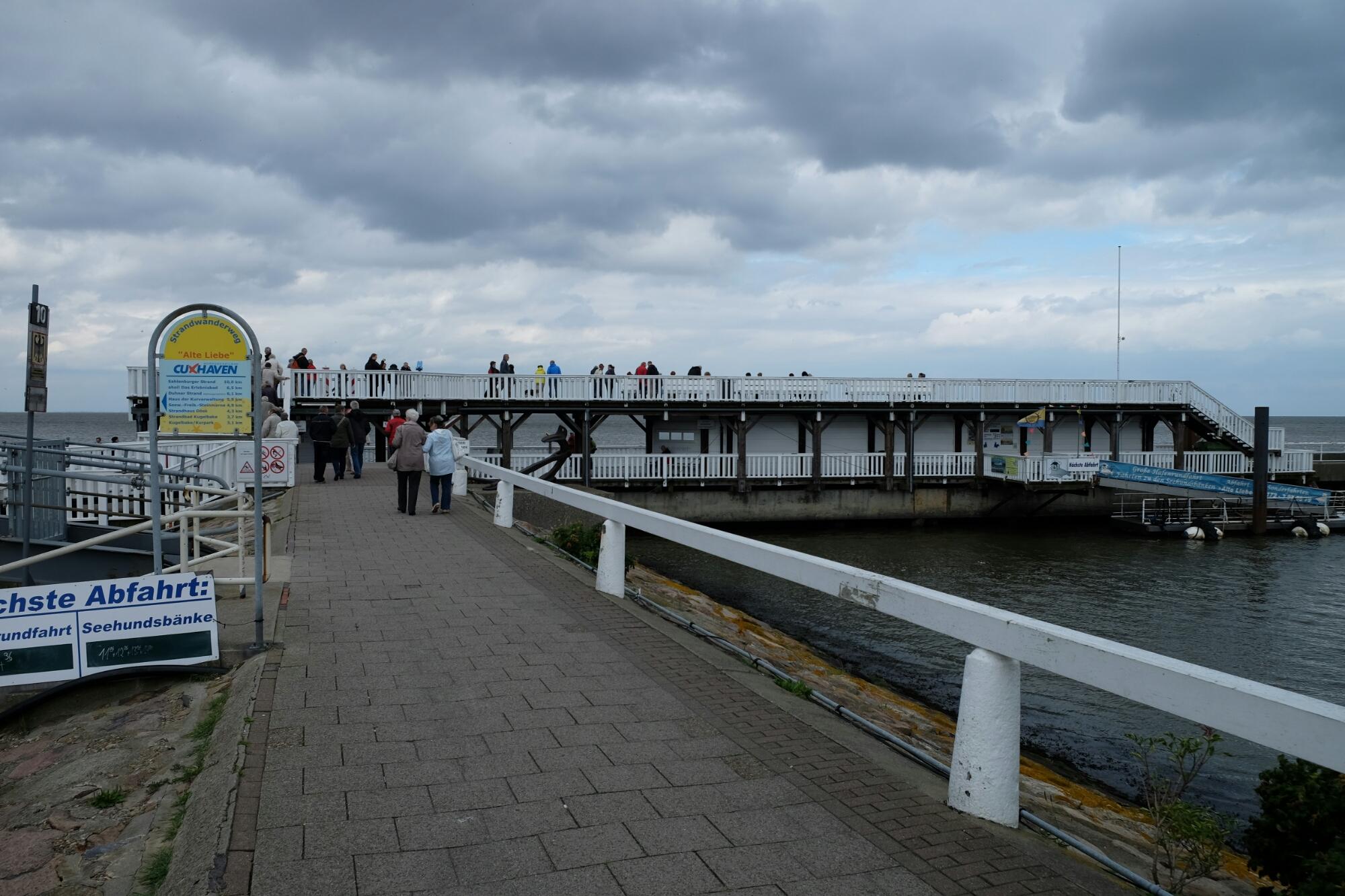 Alte Liebe von Cuxhaven